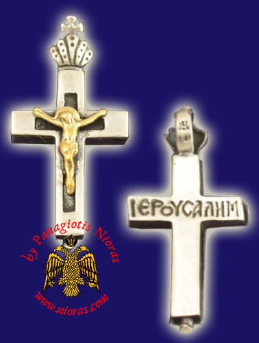 Neck Cross Silver 925 with Crist Cross_Fr82