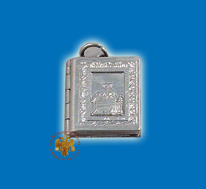 Small Gospel Pendant Design Annunciation