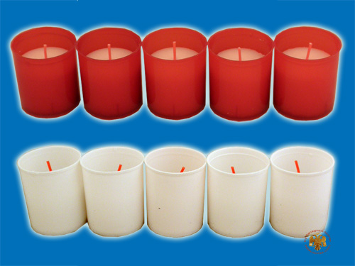 Paraffin Wax Candle for Cenotaph 10B Set of 5 Pieces