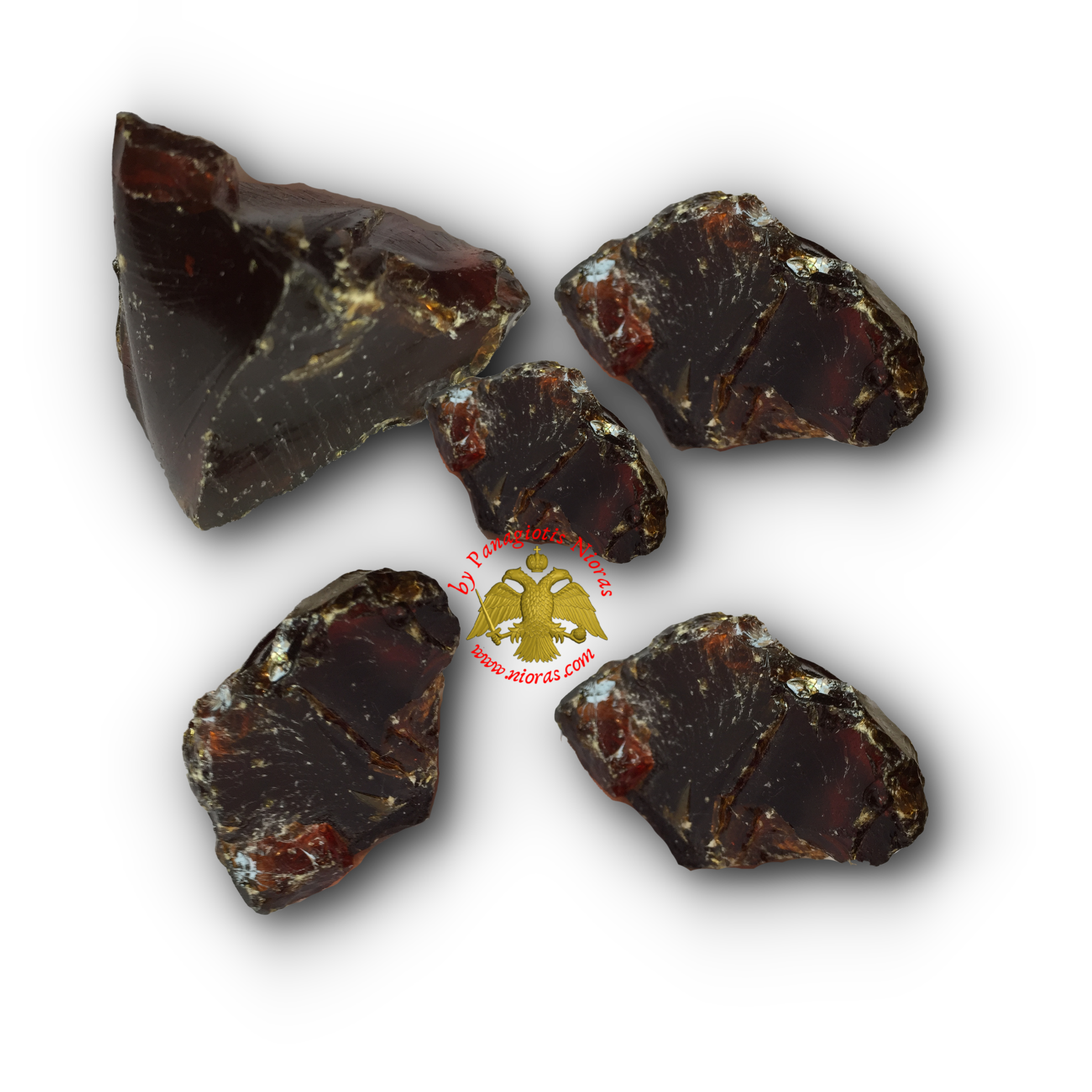 Natural Frankincense Resin Red Amber Incense
