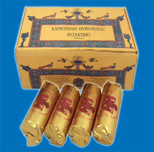 Incense Coal Byzantine 40mm Made in Greece