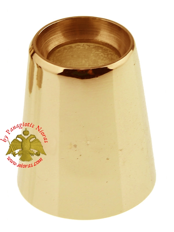 Metal Brass Followers for Holy Table Wax Candles