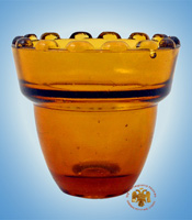 Replacement Oil Candle Glass Cup Design  M3 7cm