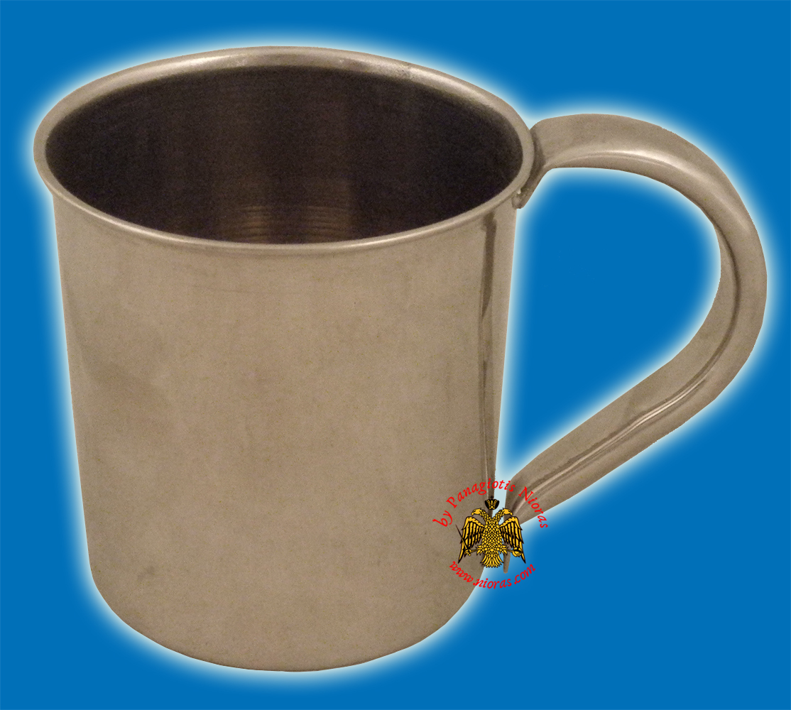 Metal Cup for Extinguishing Wax Candles Nickel
