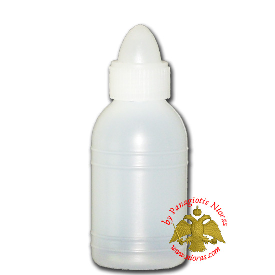 Holy Water or Holy Oil Bottle Plastic 100ml