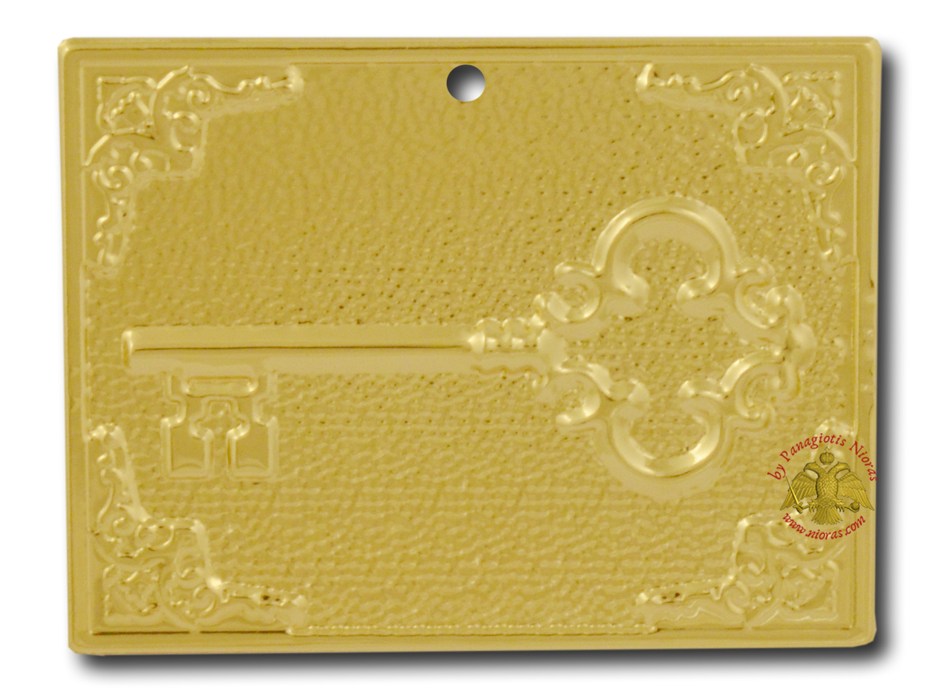 Orthodox Metal Tama House Key ExVoto  Gold Plated Milagros
