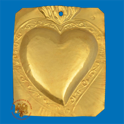 Tama Votive Gold Heart