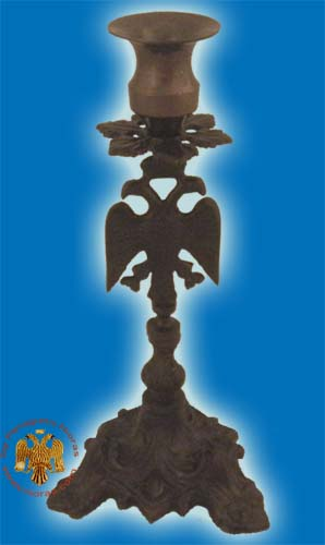 Altar Holy Table Candle Stand Eagle Design Antique