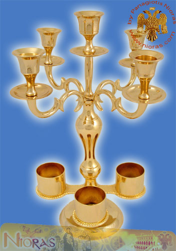 Holy Table Candle Stand Artoklasia