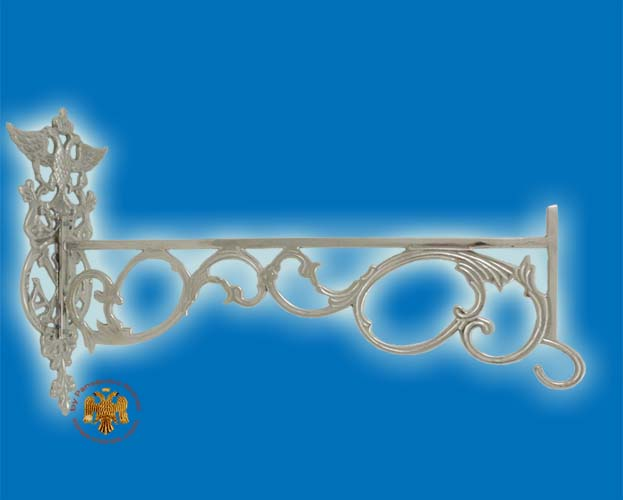 Bracket For Oil Candle Nickel Plated 40cm