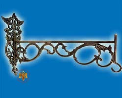 Bracket For Oil Candle Antique 40cm