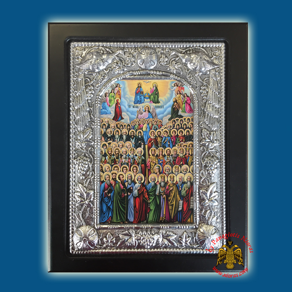 All Saints Silver Plated Icon