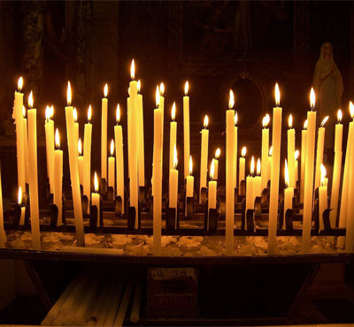 Orthodox Church Bee Wax Candles 950 grms