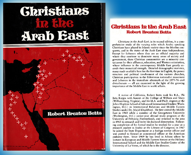 Christians in the Arab East: A Political Study