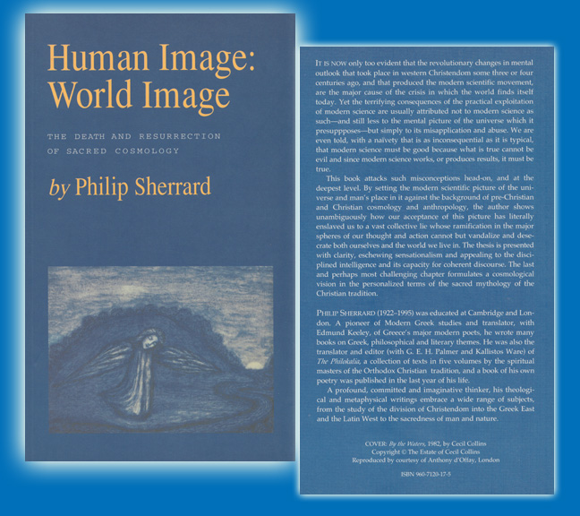 Human Image: World Image : The Death and Resurrection of Sacred Cosmology