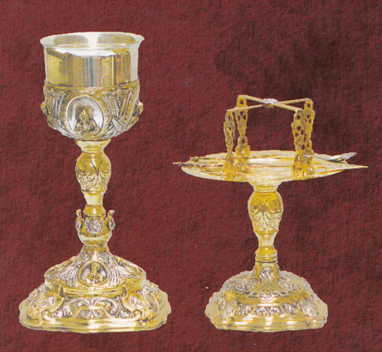 Ecclesiastical Chalice Set Russian Style Design D