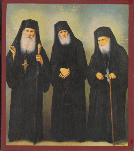 Monks New of the Century, Iakovos, Paisios, Porfirios