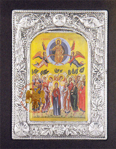 Ascension of the Lord Aluminum Icon