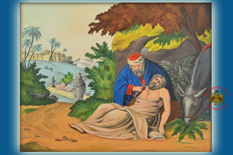 hagiography icon parable of the good samaritan u003cb u003e special order
