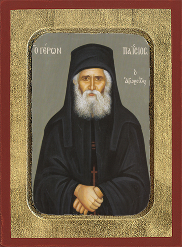 MONK PAISIOS OF THE HOLY MOUNTAIN, ATHOS, GREECE