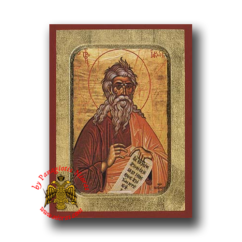 Jacob the Prophet Byzantine Wooden Icon