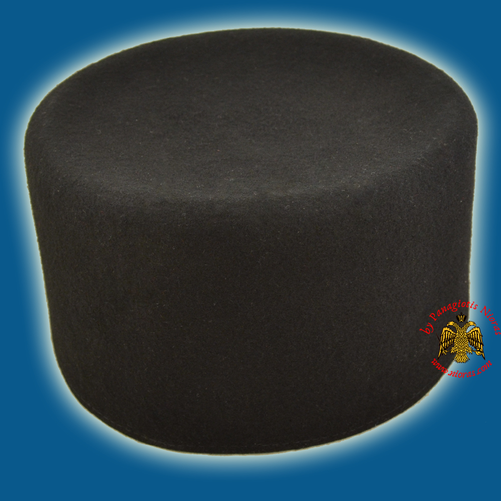 Orthodox Clerical or Monks Hat - Kalpaki Woolen 100%
