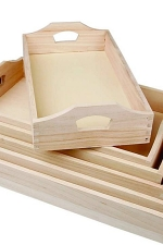 Wooden Koliva Trays