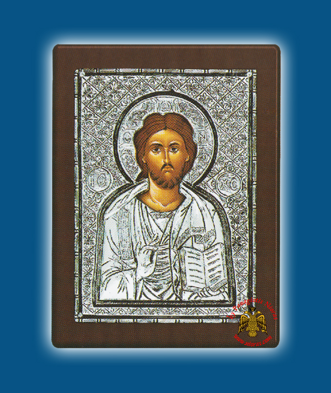 Christ Silver Holy Icon