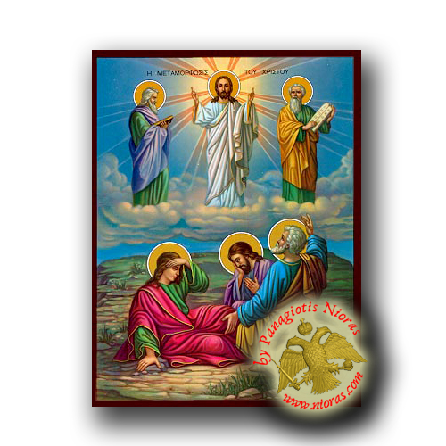 The Transfiguration - Neoclassical Wooden Icon