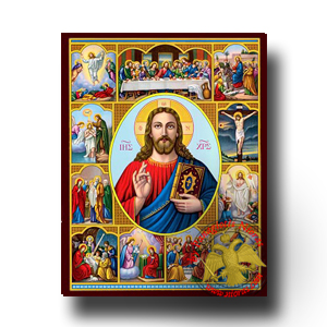 Neoclassical Icons of Christ