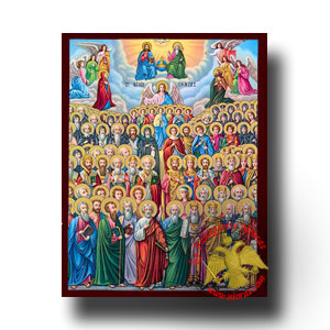 Neoclassical Icons of Christian Themes