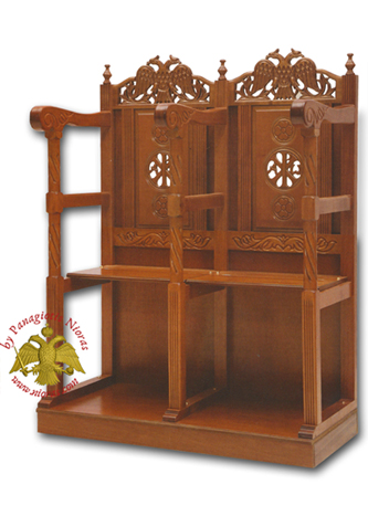 WoodCarved Chairs - Stalls