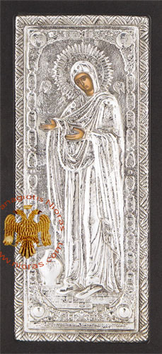 The Lady Abbess Aluminum Icon