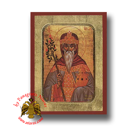 Aaron the Prophet Byzantine Wooden Icon