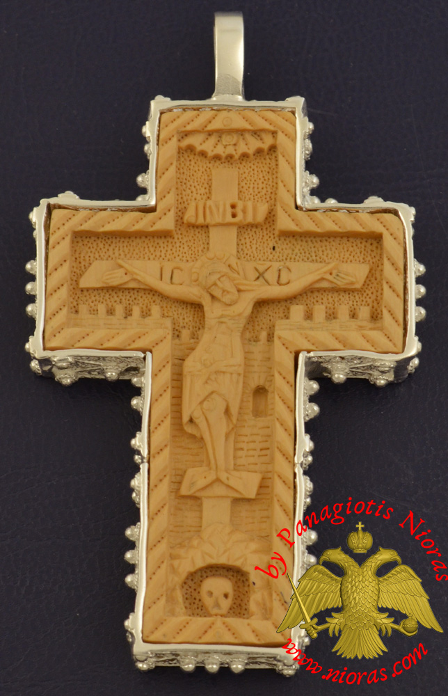 Silver Sterling 925 Filigree Metal Cross Cover 6x7cm - Price only for Silver Cover NOT the wooden Cross