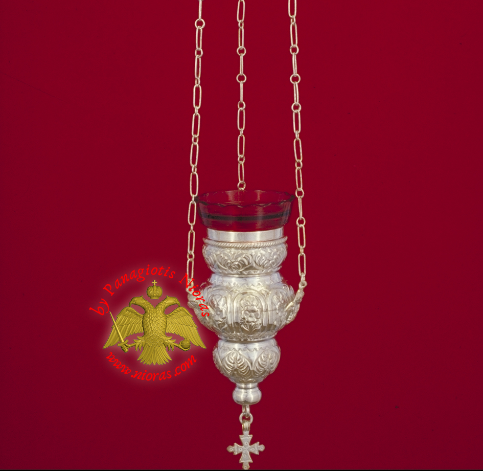 Kerkiraiko Style No.0 Silver Sterling Hanging Oil Candle Hand Made