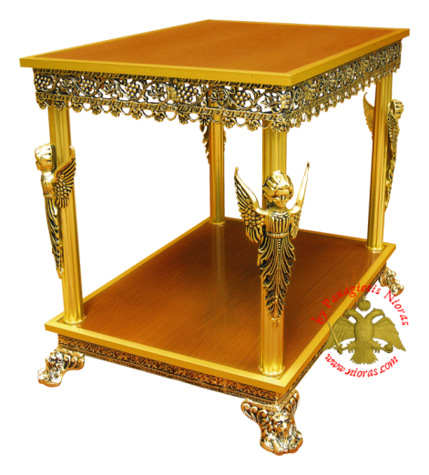 Orthodox Church Aluminium Table 100x74x83cm