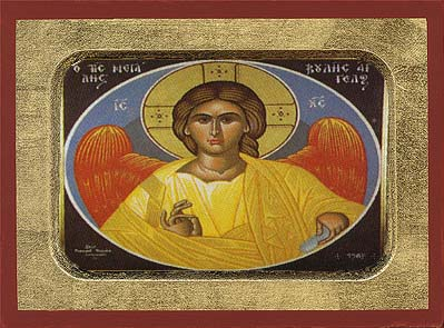 Angel of Great Counsel Wooden Icon