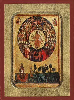 All Saints Byzantine Wooden Icon