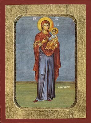 Holy Virgin Mary The Hodegetria (standing)