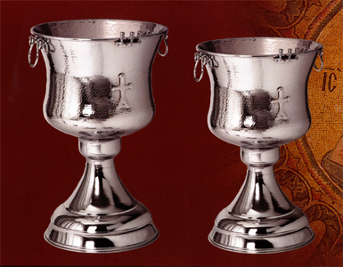 Baptismal Fonts With Water Tank Nickel Plated