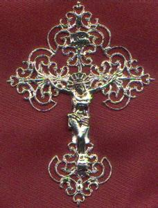 Cross with Metal Craft Design A