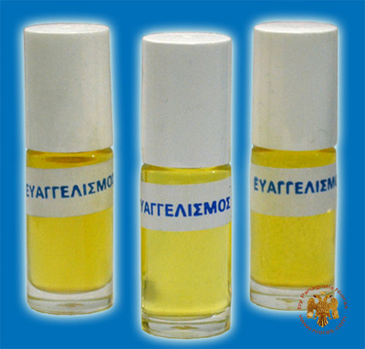 Evaggelismos (Perfumed Holy Oil)-3 Bottles of 20ml-