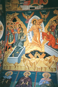 Church Frescos Hagiographies