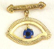Eye Design A Baptism Pin