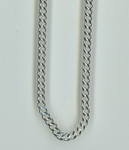 Silver Chain Courmet Flat Style Chain_113