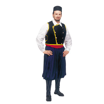Cefalonia Male Traditional Dance Costume