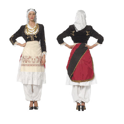 Cretan Female Traditional Dance Costume