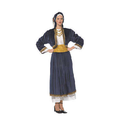 Cyclades Female Traditional Dance Costume